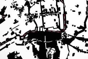 Alicja Gaskon , Dividing Lines_ East_West Divide, detail