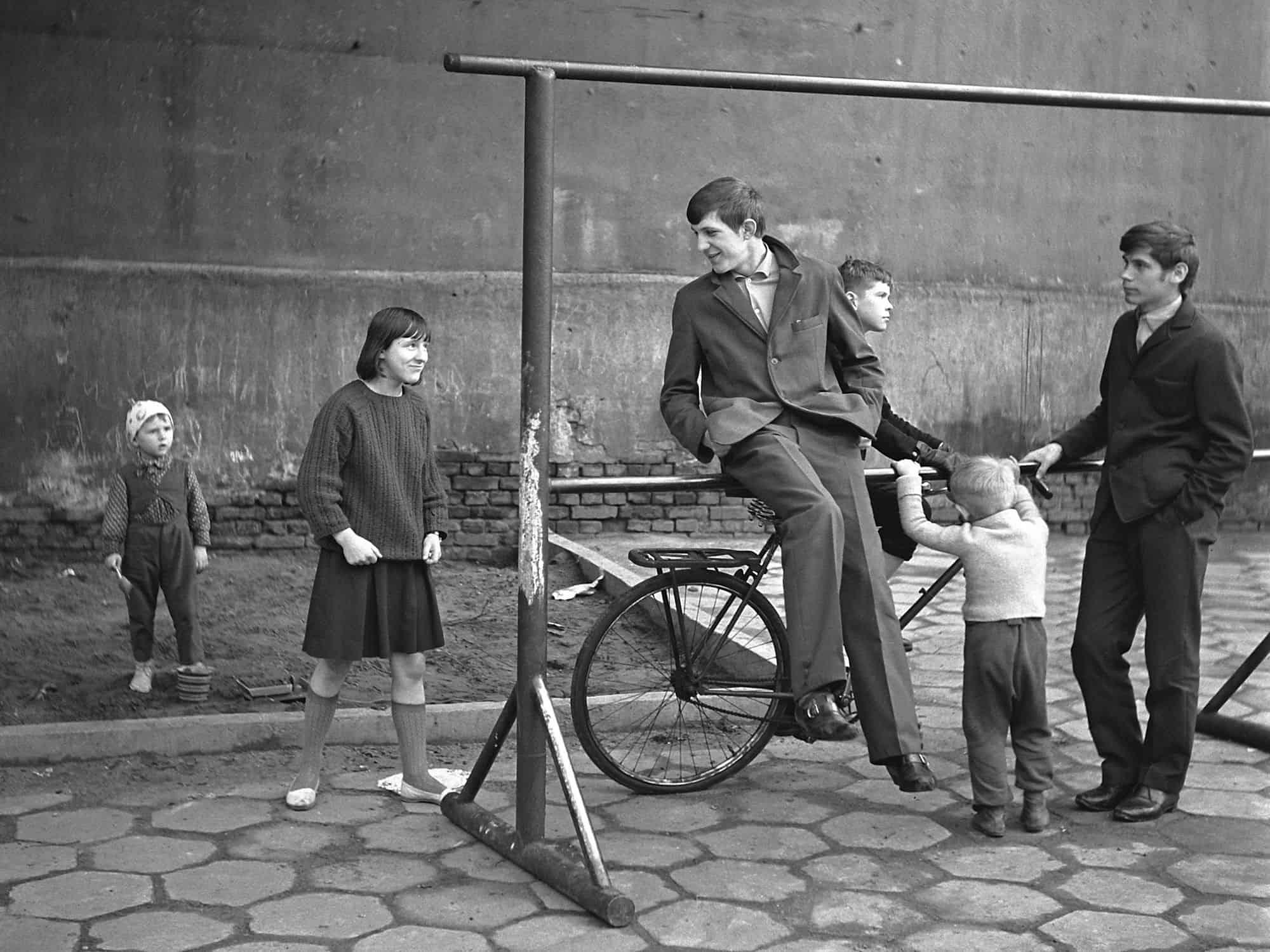 Bogdan Dziworski, Łódź 1966, photo
