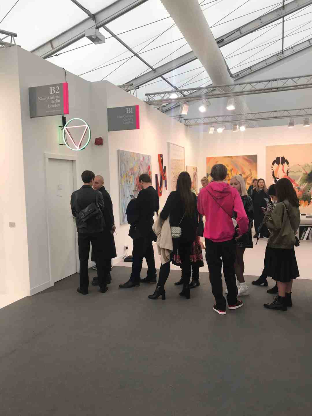 Queuing for Alex Baczynski-Jenkins Frieze Artist Award 2018
