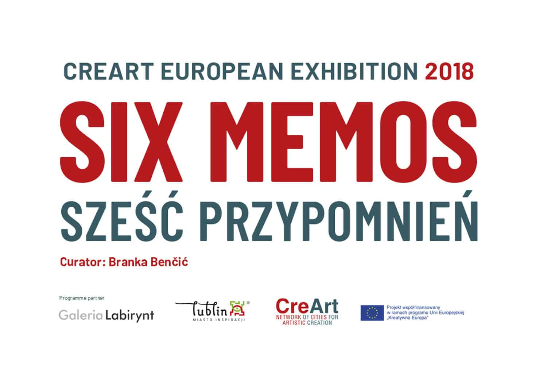 six memos exhibition