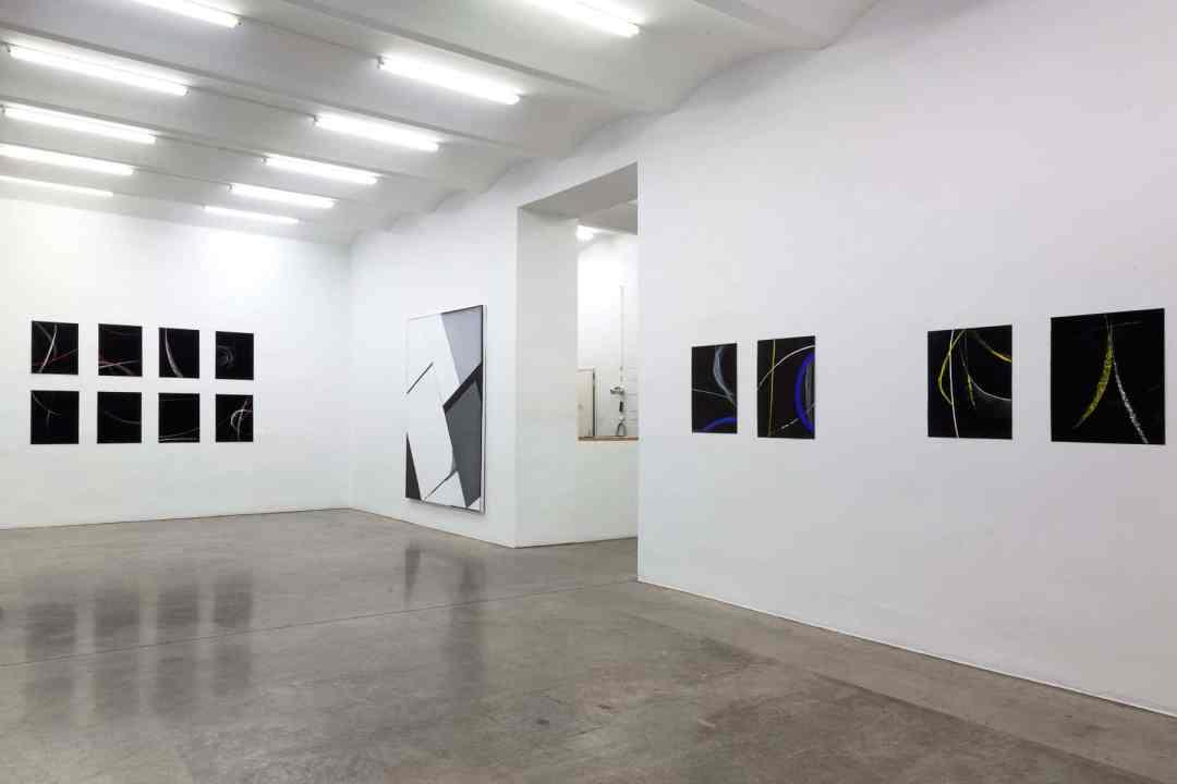 Exhibition view P A S D E D E U X Magdalena Więcek & Natalia Załuska, Christine König Galerie, Vienna 2018