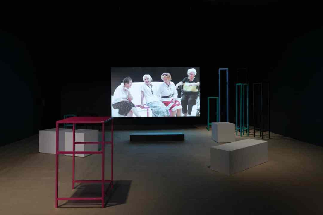 Maja Bekan, installation view of the exhibition: Maja Bekan, 23 Assemblies (2017). Photo: Bartosz Górka, courtesy of Ujazdowski Castle Centre for Contemporary Art.