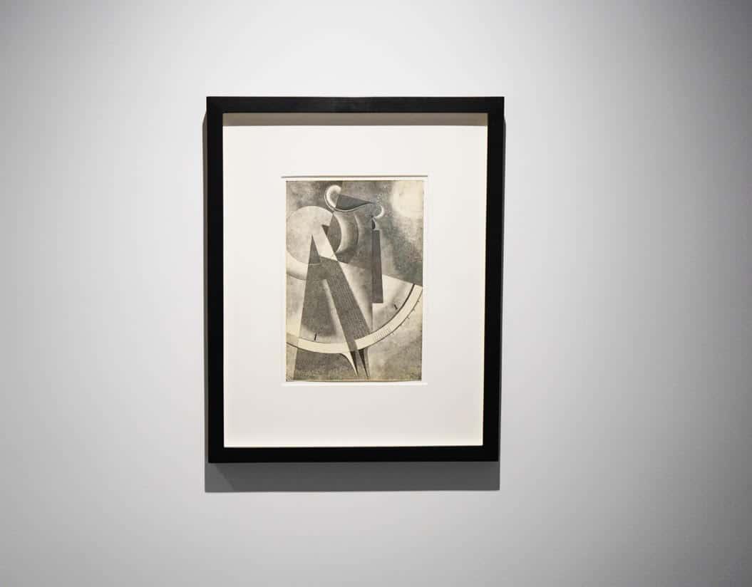 Karol Hiller, Heliographic composition XXXVII, courtesy Olszewski Gallery