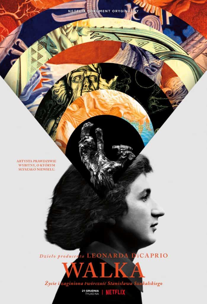 "Poster of the movie ""Struggle: The Life and Lost Art of Szukalski"", courtesy: Netflix Official Site"