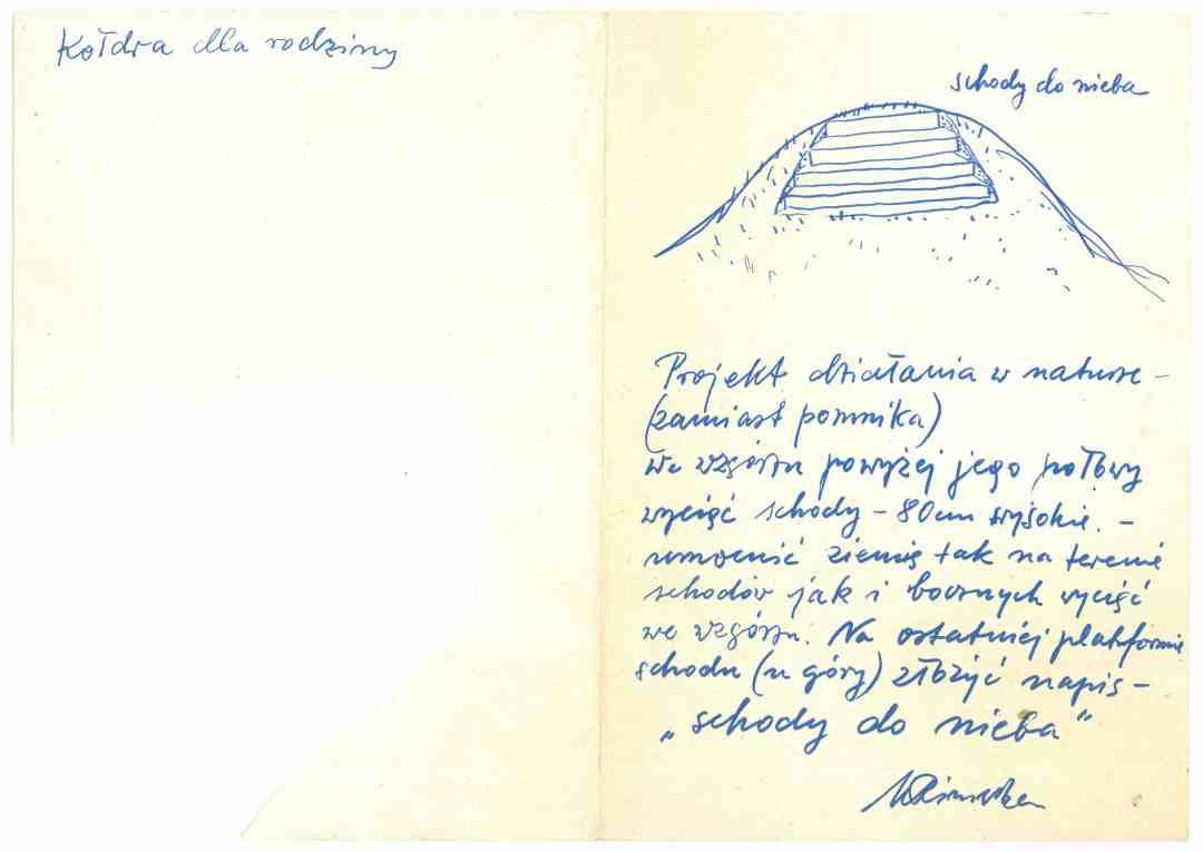 Maria Pinińska-Bereś, Stairway to Heaven, 60s/70s 20th century, courtesy: the Bunkier Sztuki Gallery