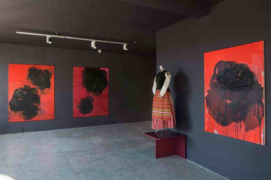 """Katarzyna Swinarska, """"Innocent Colonies"""" exhibition, the Gdańsk City Gallery"""