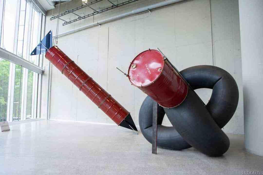 "The Best ArtVilnius18 Installation, Vladas-Urbanavicius, ""The Path"" international exhibition of installation, sculpture and performance;"