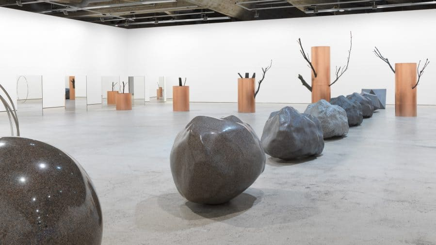 "Alicja Kwade, ""Trans-For-Men"", exhibition, Espoo Museum of Modern Art"