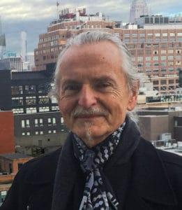 Krzysztof Wodiczko, Photo Courtesy of Ewa Harabasz, 2019