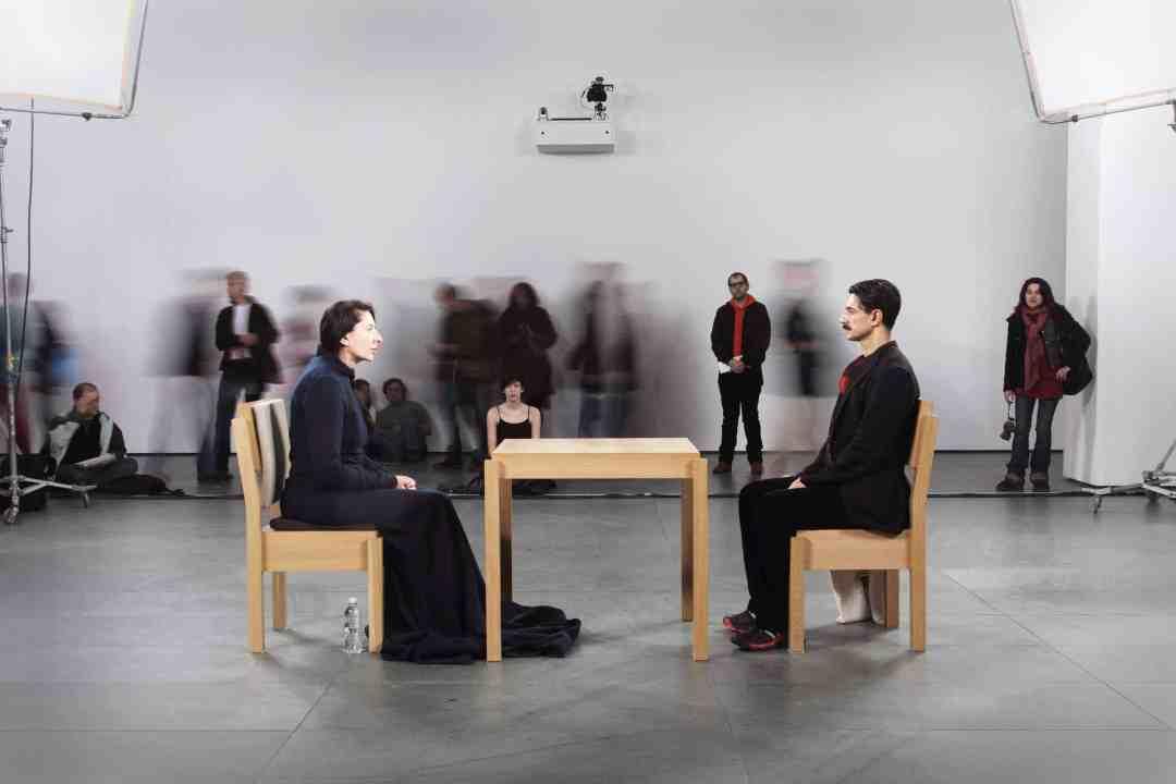Marina Abramović, The Artist is Present, Performans, Museum of Modern Art, Nowy Jork 2010, Fot. Marco Anelli, Dzięki uprzejmości Archiwum Mariny Abramović