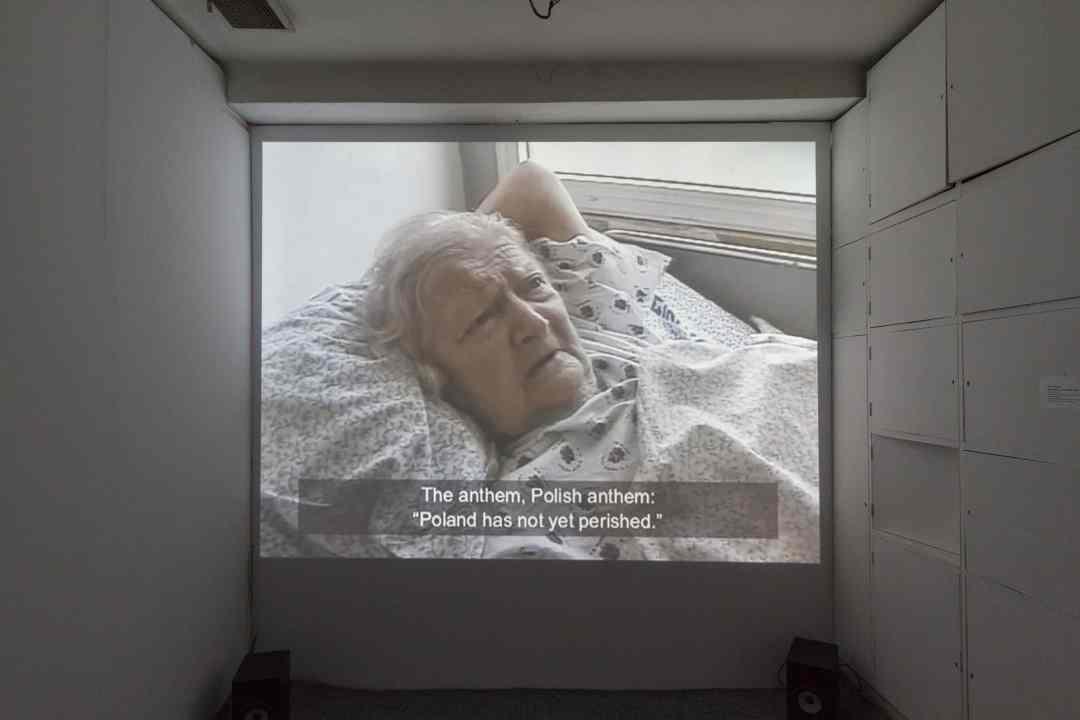 """""""Stories of Old Age"""", exhibition, the Arsenal Gallery in Białystok, photos by Maciej Zaniewski, from the archives of Gallery Arsenal in Bialystok"""