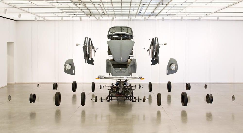Damian Ortega, Cosmic Thing, 2002Xiuzhen Yin, Collective Subcinscious, 2007, Gladstone Gallery