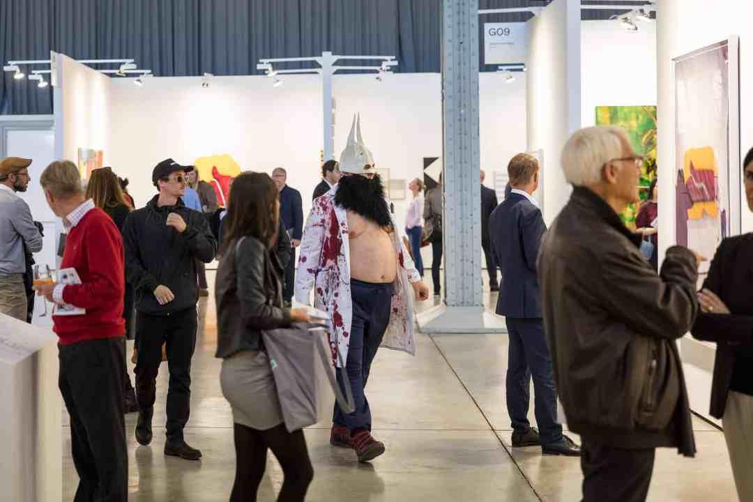 viennacontemporary 2018, fair view, photo kunst dokumentation