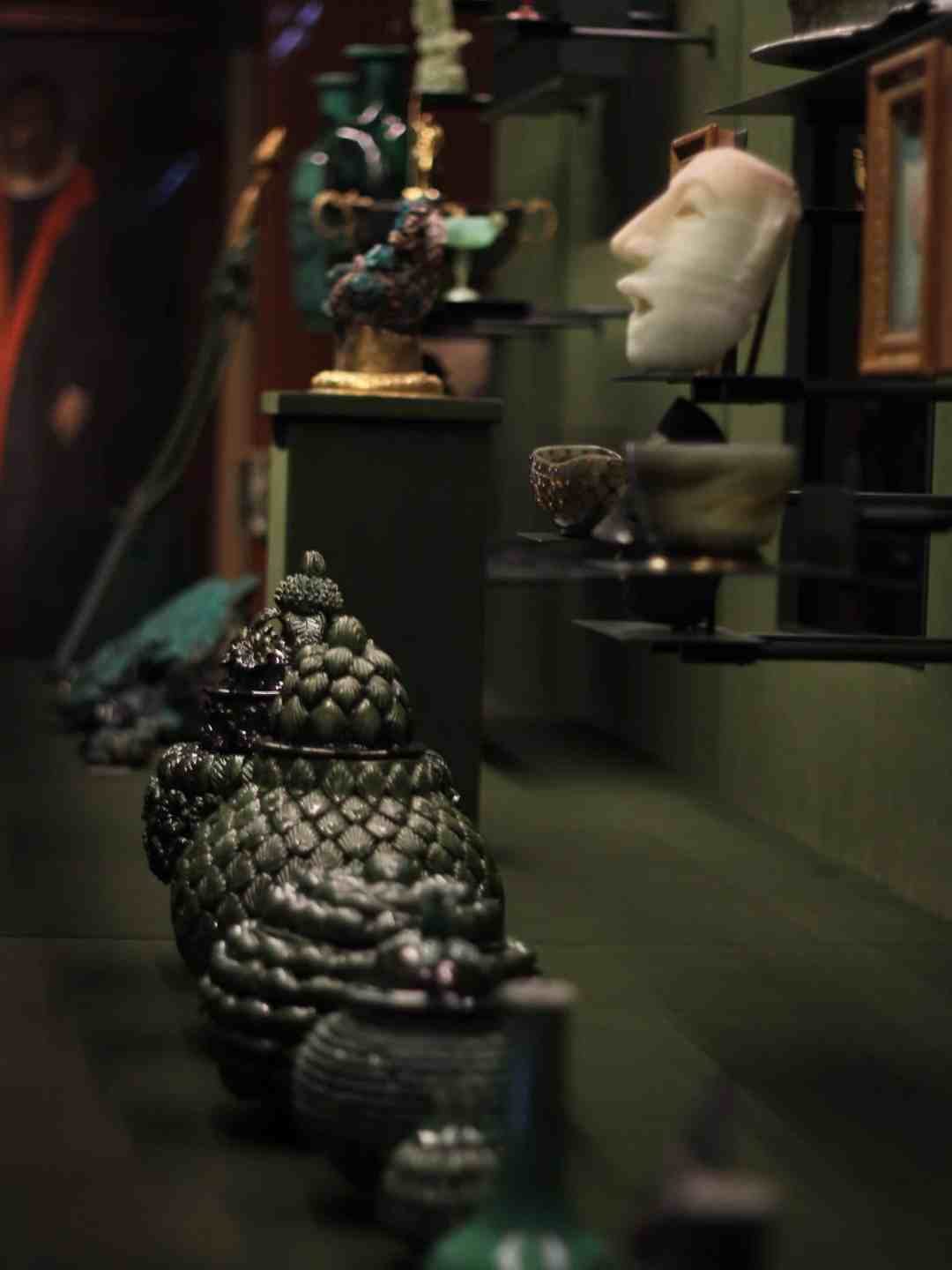 """Spitzmaus Mummy in a Coffin and Other Treasures"" exhibition, photo: Dobrosława Nowak"