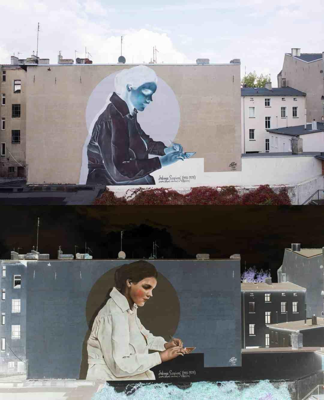 Mural Juan Sebastian, photo: Łukasz Antczak