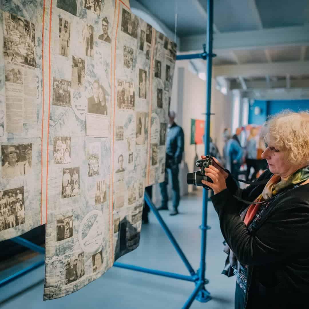 The 16th International Triennial of Tapestry in Łódź, 2019.