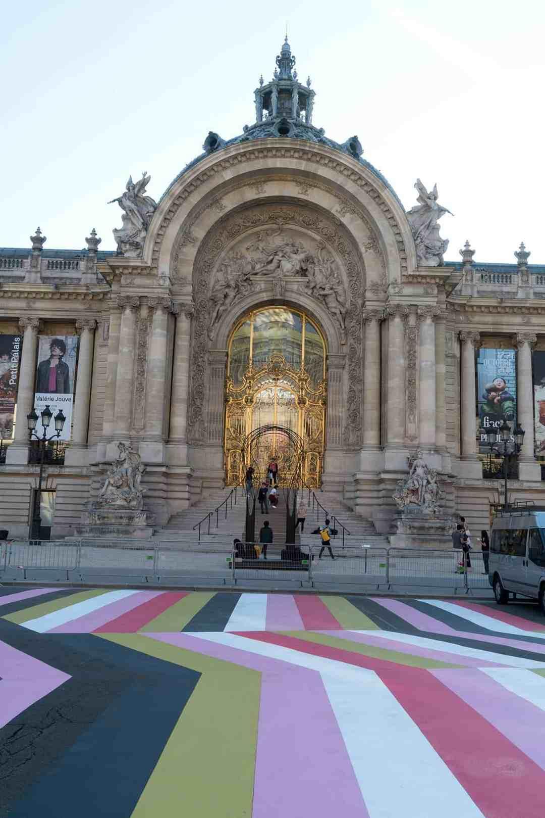Street Painting #10, LANG & BAUMANN, 2018. Loevenbruck, Paris. © Marc Domage