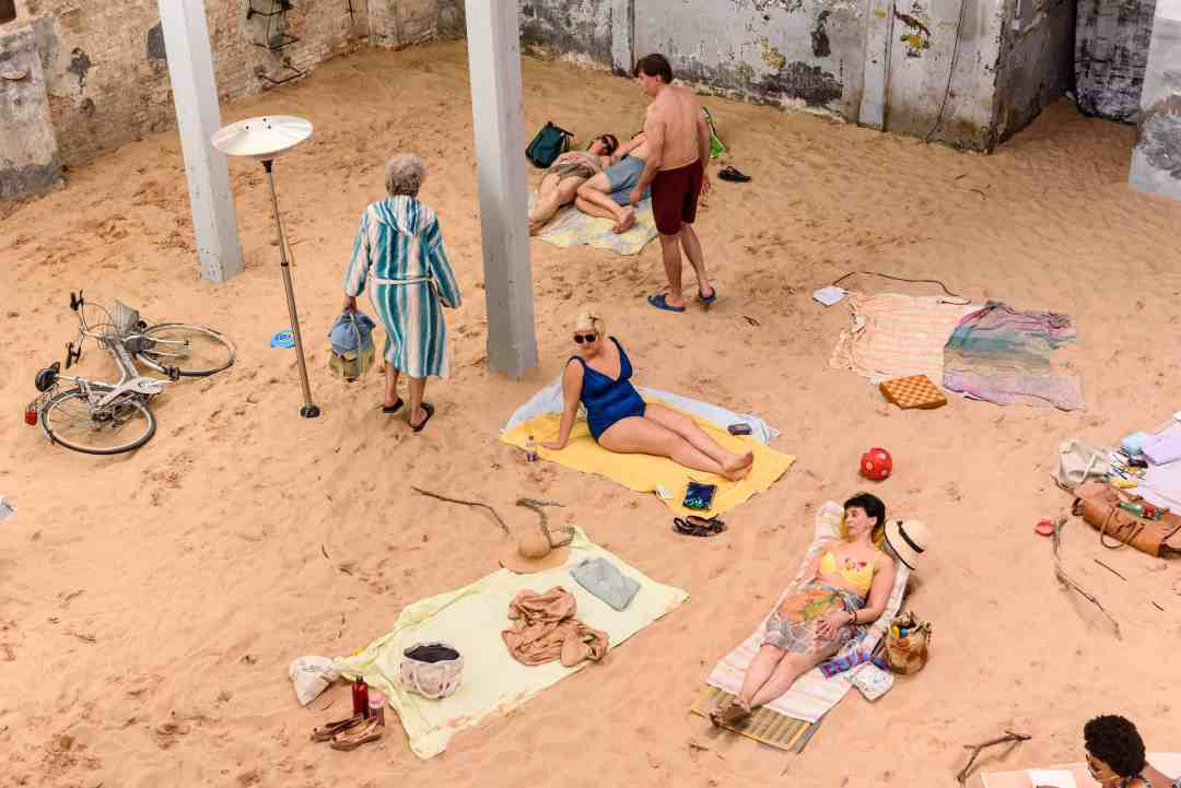 Sun & Sea (Marina). Opera-performance for 13 voices, Lithuania Pavilion, 58th International Art Exhibition - La Biennale di Venezia, MayYou Live In Interesting Times, Photo by: Andrea Avezzù, Courtesy: La Biennale di Venezia