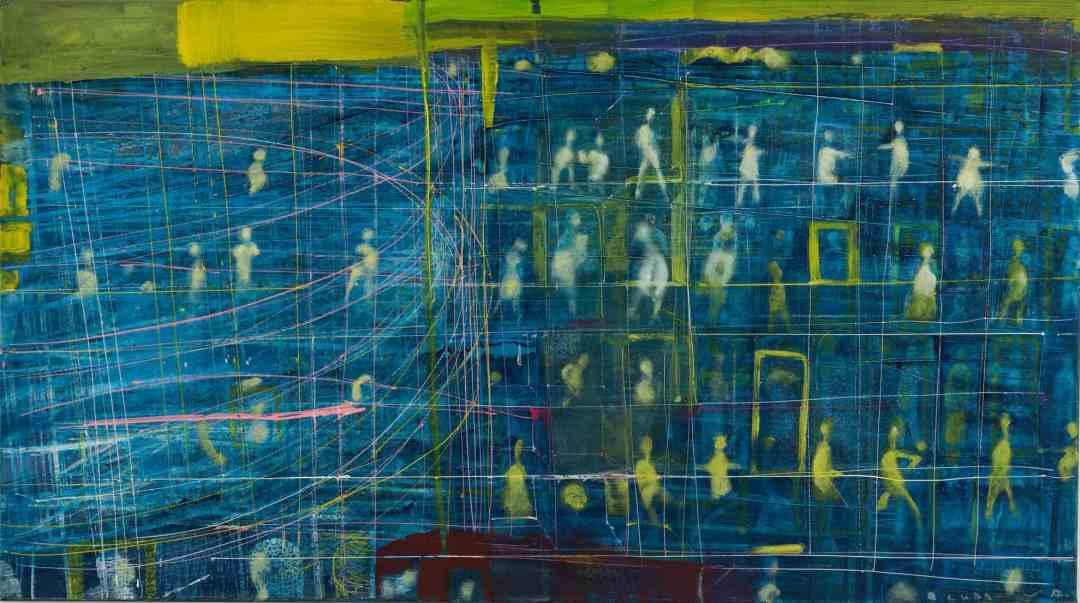 Andriy Bludov - CITY VISION, 2019, Karas Gallery, Kyiv