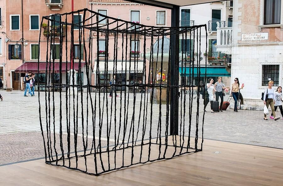 Anna Zvyagintseva - The Cage, Pavilion of Ukraine at the 56th International Art Exhibition – la Biennale di Venezia, Italy, 2015