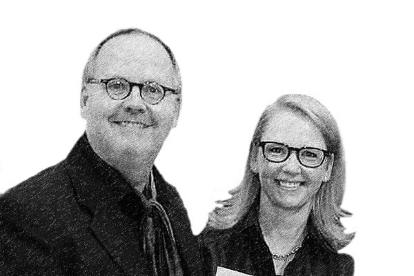 Art Collectors Katrin Liesenfeld-Jordan and Dirk Liesenfeld Kunstalm