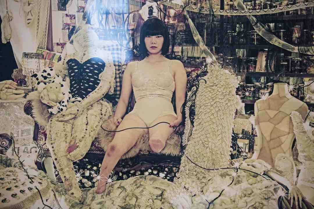 Mari Katayama, Various works, 2011-2017, Mixed media, 58th International Art Exhibition - La Biennale di Venezia, May You Live In Interesting Time, photo by Italo Rondinella, Courtesy: La Biennale di Venezia