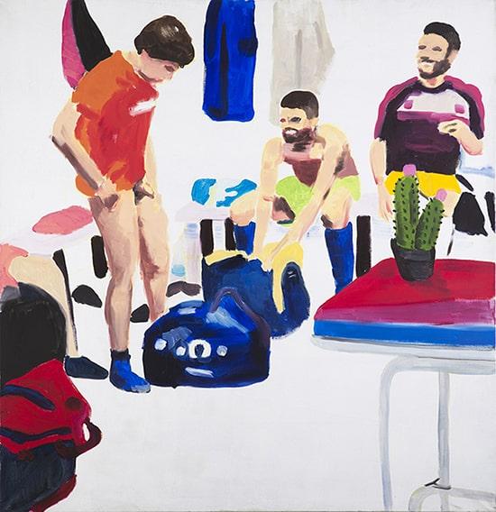Adomas Danusevicius - In the Locker room, 2014