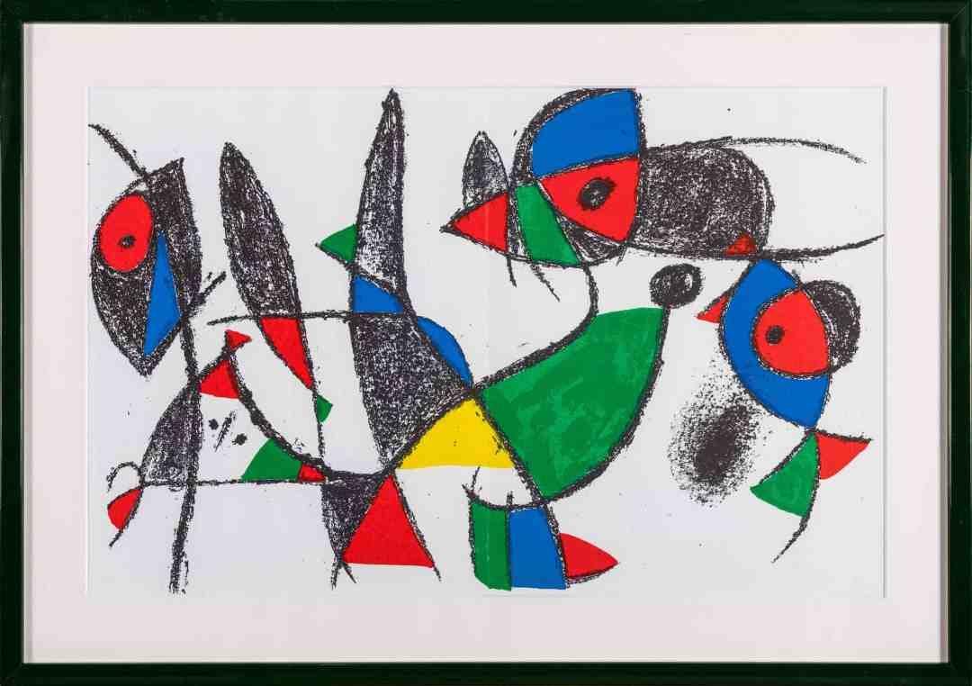 Joan MIRÓ (1893 - 1983) 'Kompozycja X/IV', 1972 by Galeria Nautilus
