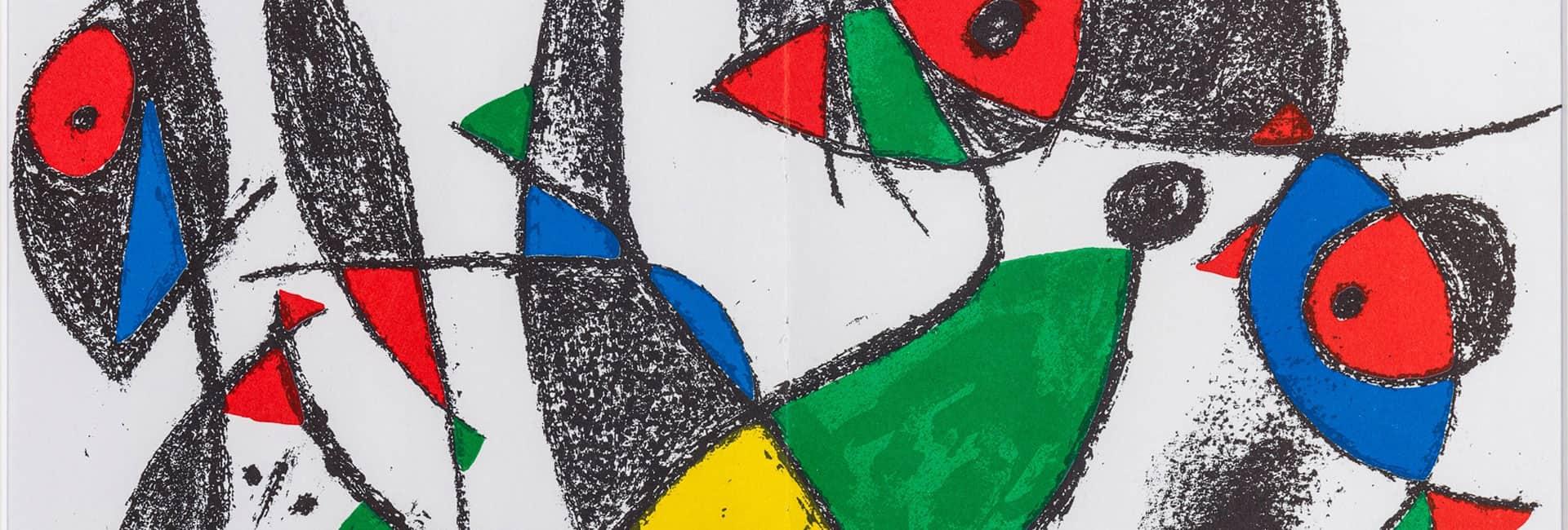 Joan MIRÓ (1893 - 1983) 'Kompozycja X/IV', 1972 by Galeria Nautilus (detail)