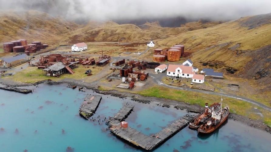 Grytviken Whaling Station, South Georgia