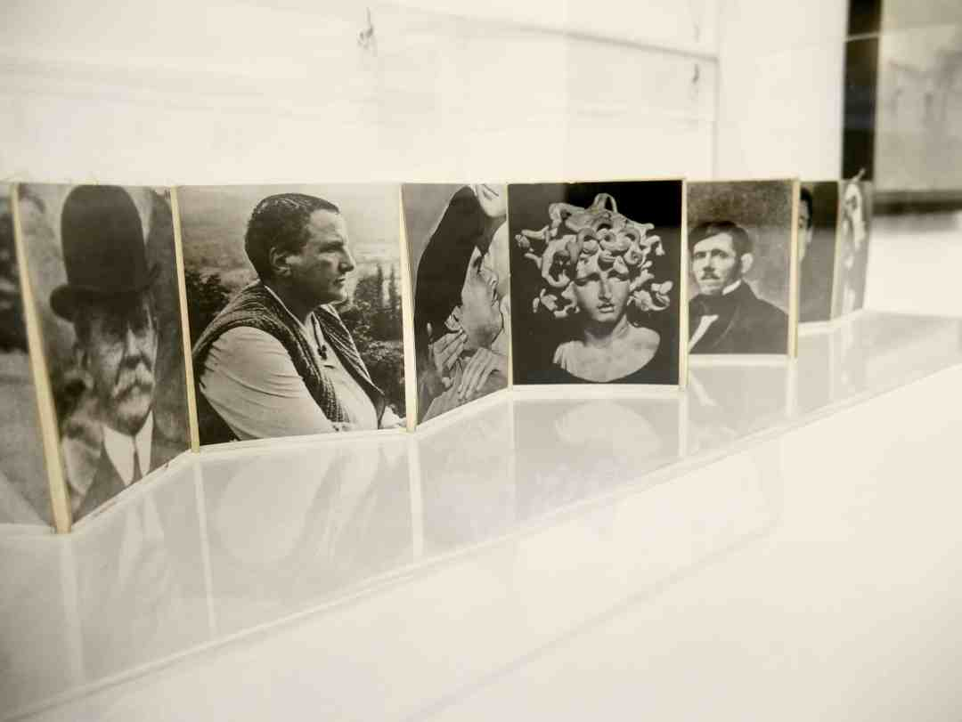 "Josip Vaništa, ""Collective ID Card"", 1961, photo on canvas."
