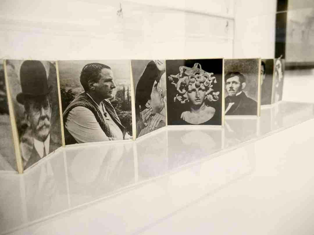 """Josip Vaništa, """"Collective ID Card"""", 1961, photo on canvas."""