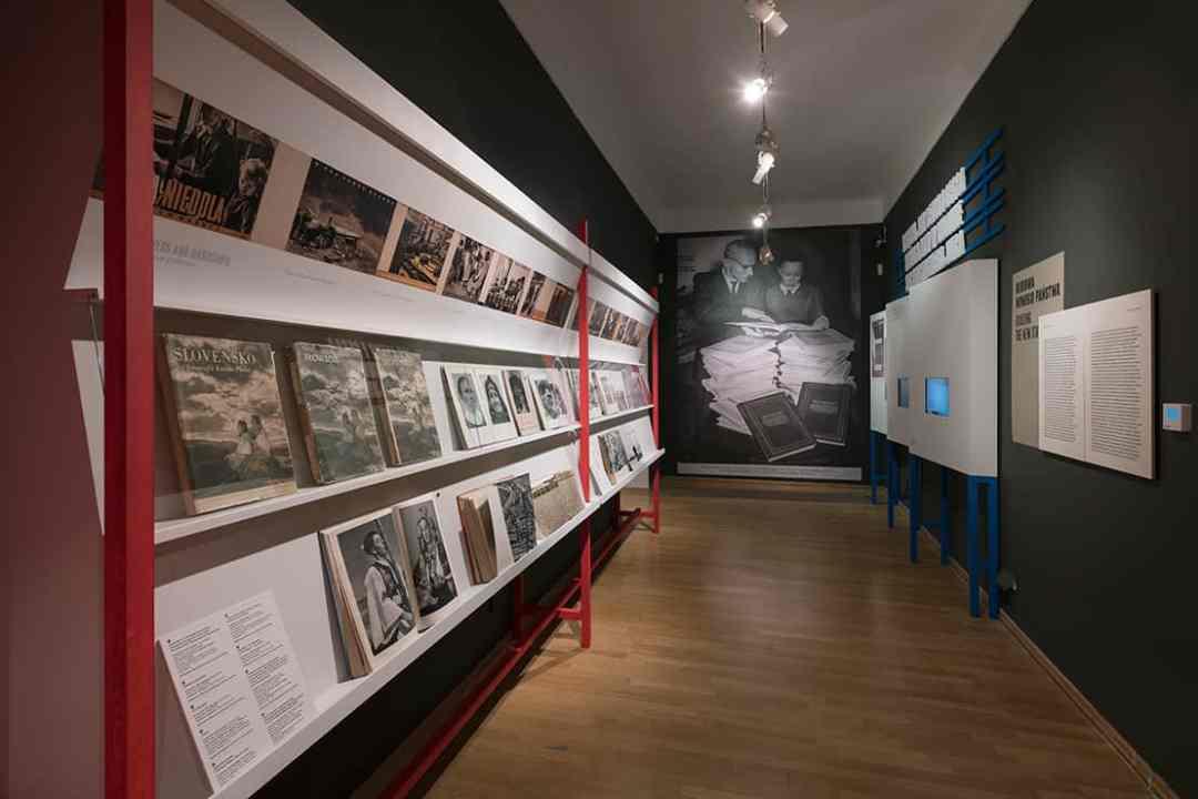 """Photobloc. Central Europe in Photobooks"" exhibition, International Cultural Centre Gallery, Kraków."