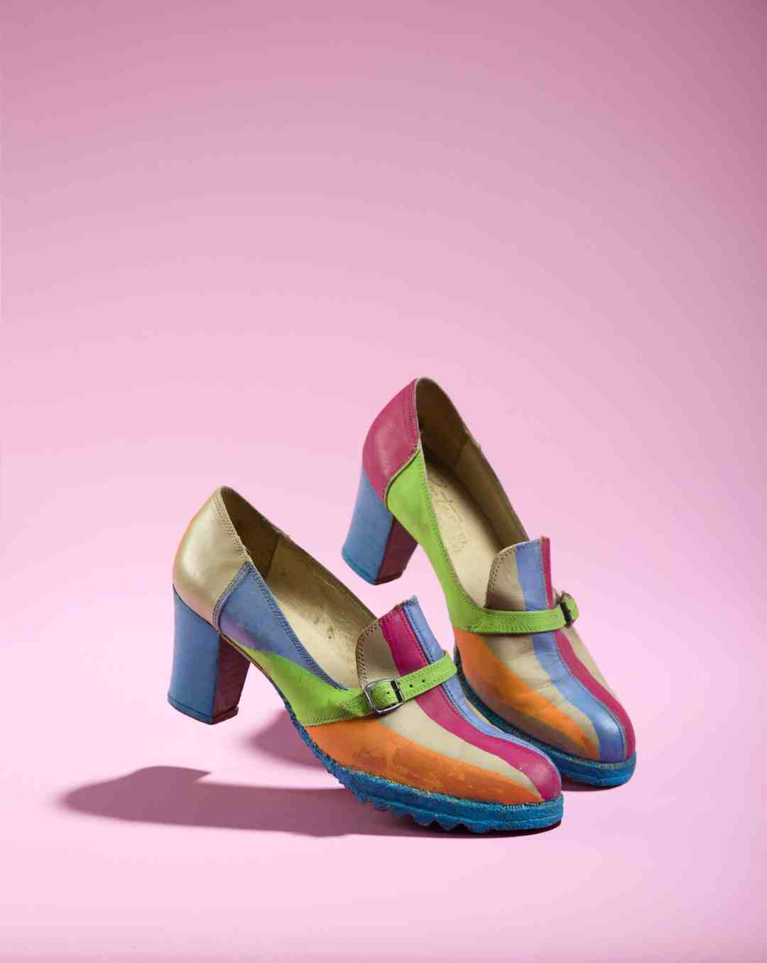 Henryk Stazewski (1894 - 1988) Anda's Rottenberg Shoes, circa 1981