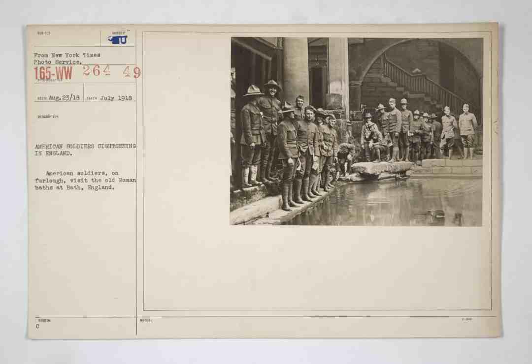 Karteikarten mit Fotografien aus der American Unofficial Collection of World War I Photographs des US amerikanischen Nationalarchivs, 1918, © U.S. National Archives and Records Administration