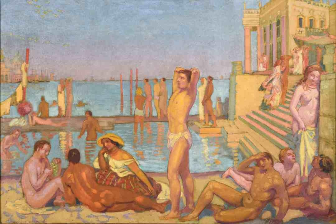 Maurice Denis, Les Captifs, 1907, musée des Beaux-Arts, Nachlass Paul Jamot, 1939, © Christian Devleeschauwer