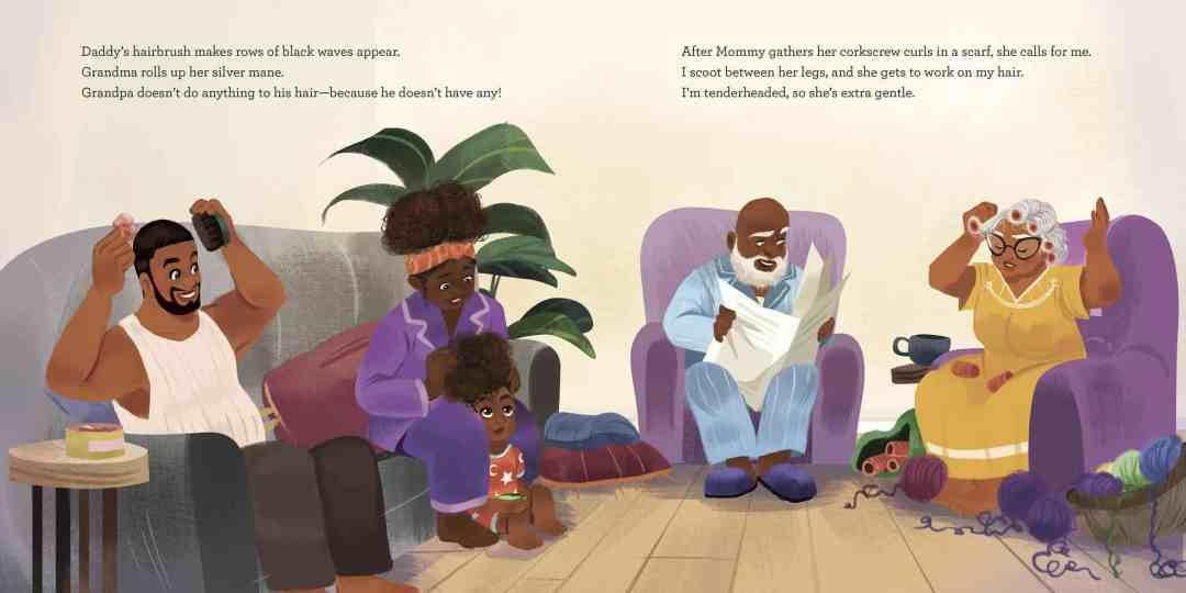 Bedtime Bonnet, Nancy Redd, illustrated by Nneka Myers, Random House Books