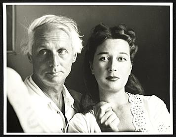 Max Ernst and Dorothea Tanning in 1948. Photo by Robert Bruce Inverarity in the Smithsonian Institution collection.