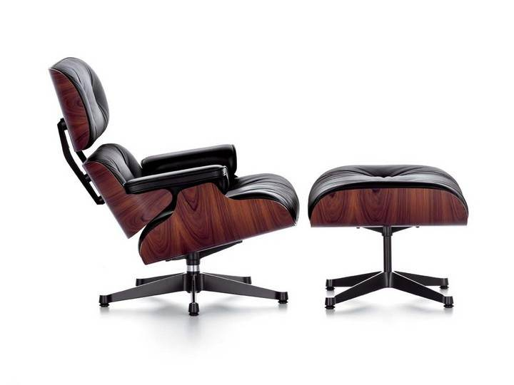 The Eames Lounge Chair, Charles and Ray Eames, 1956, source: www.atakdesign.pl/