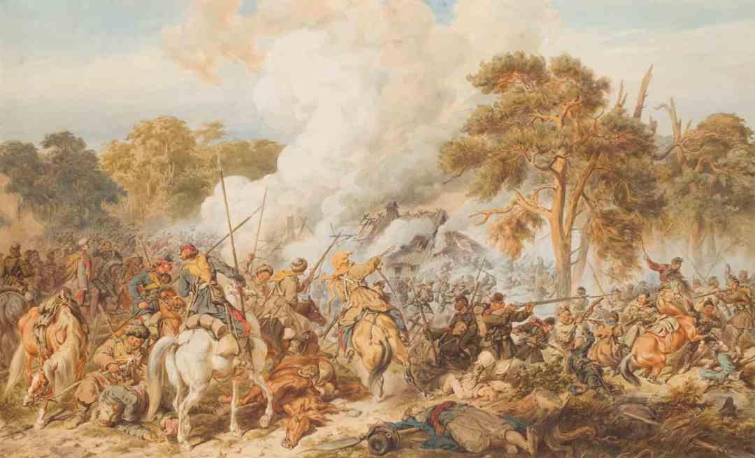 Juliusz Kossak, Bitwa pod Ignacewem