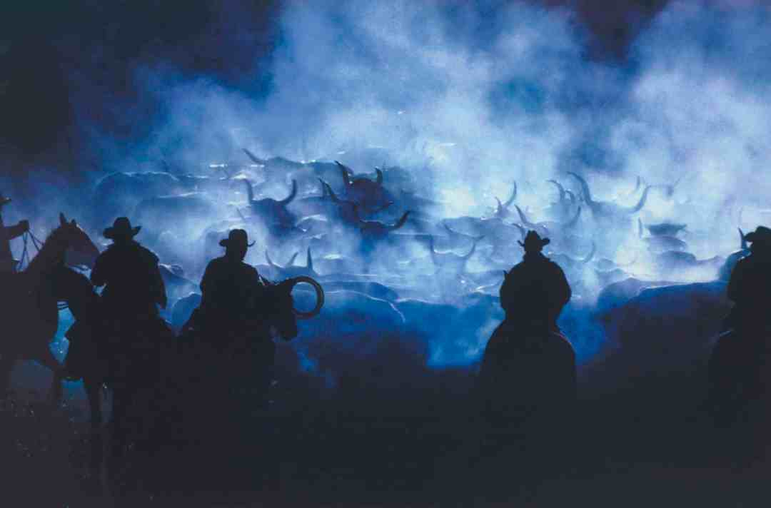 Richard Prince, Silhouette Cowboy, Ektacolor photograph, Courtesy of Gagosian Gallery