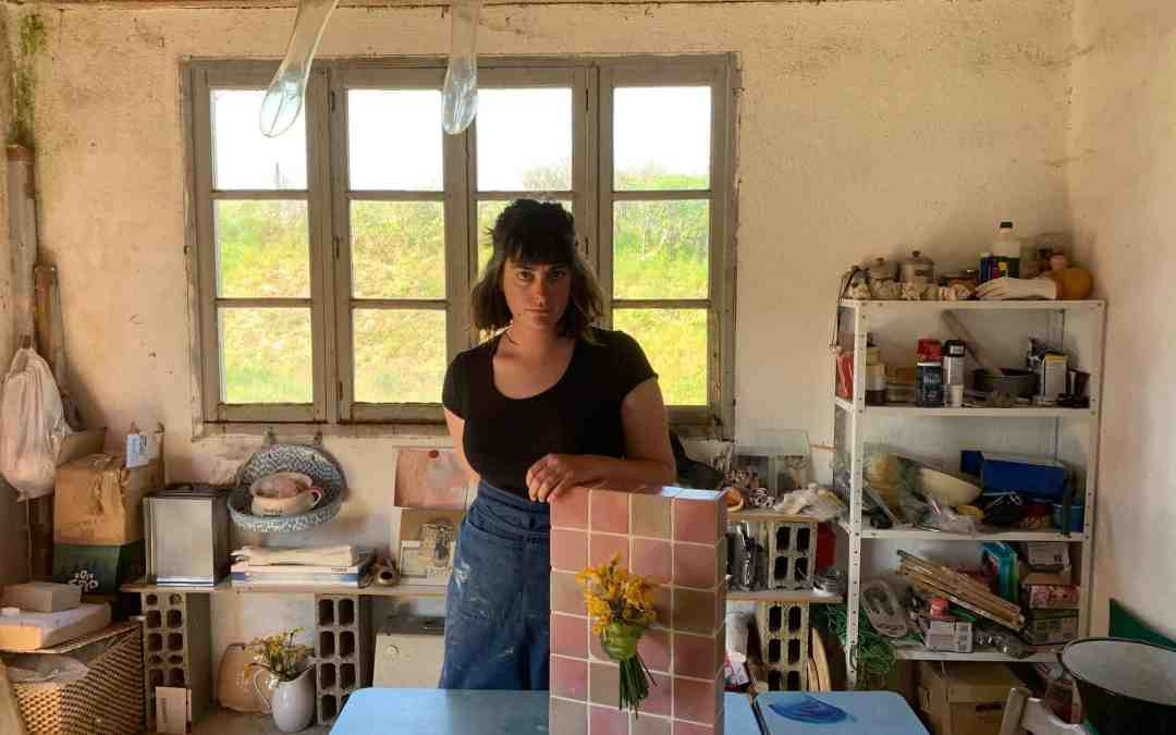 ART FOR TOUGH TIMES: IN CONVERSATION WITH ALIX MARIE