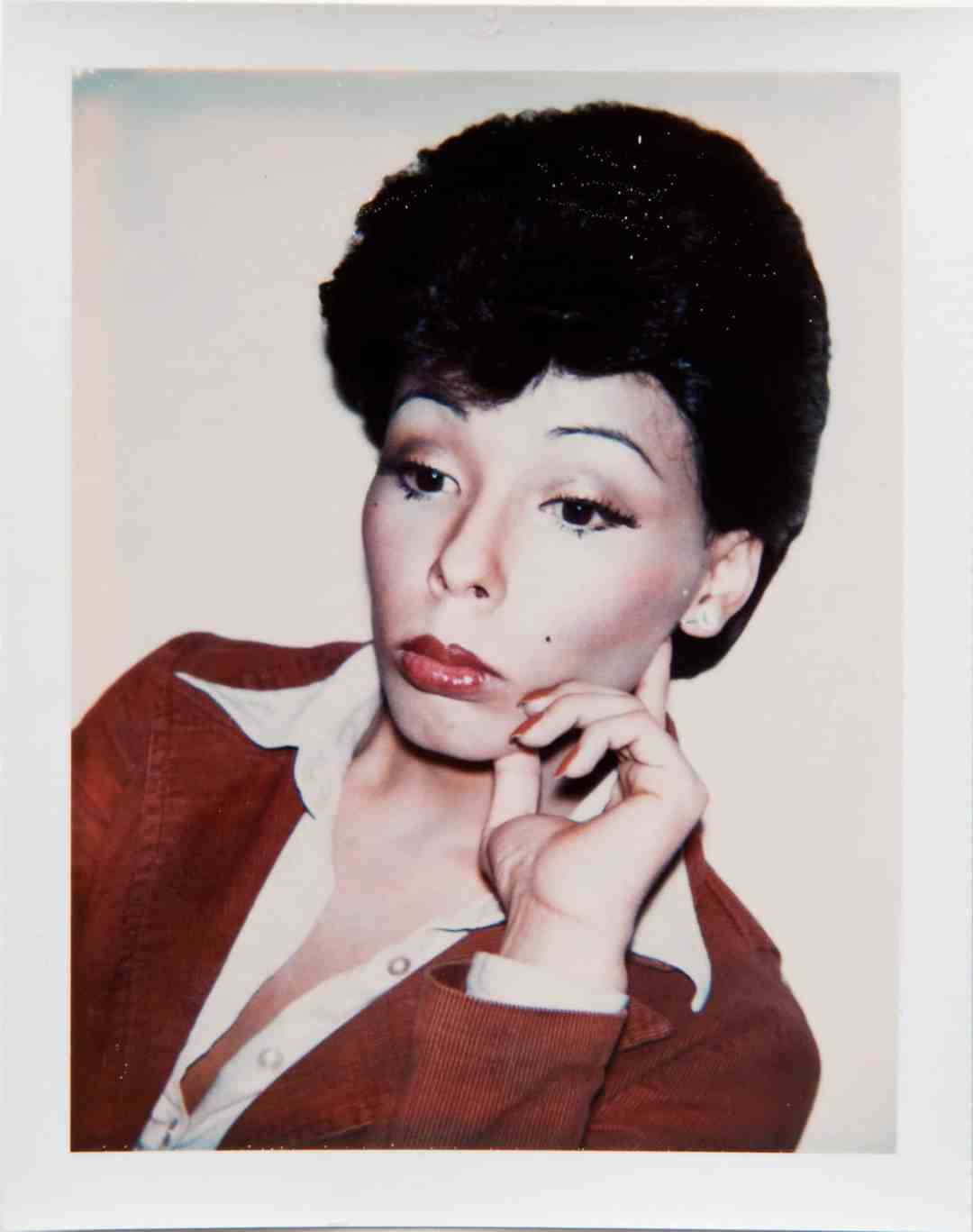Andy Warhol (1928-1987), Ladies and Gentlemen (Kim),1974. Unique polaroid print © 2020 The Andy Warhol Foundation for the Visual Arts, Inc. / Licensed by Artists Rights Society (ARS), New York. Courtesy Hedges Projects.