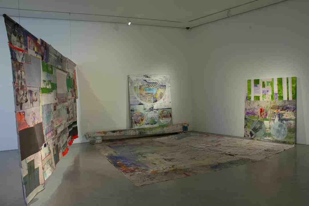 Exhibition view, Radek Szlaga,