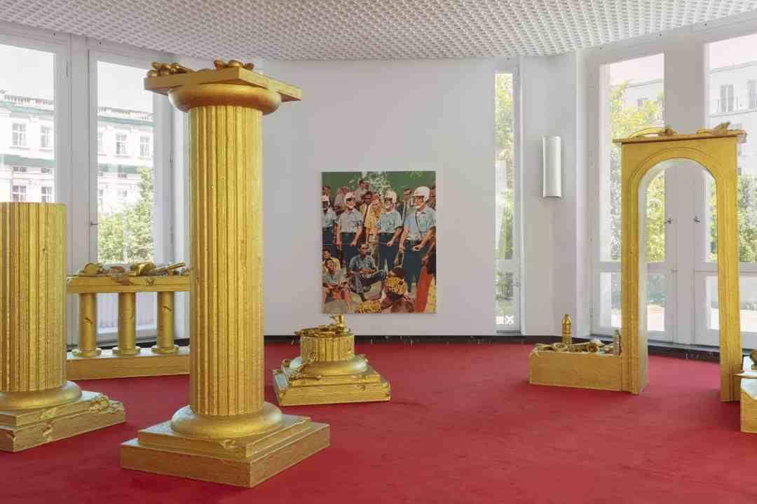 Schinkel Pavillon, John Miller, An Elixir of Immortality, Installation view, 2020. Photo: Andrea Rossetti, Image Courtesy: Berlin Art Week 2020