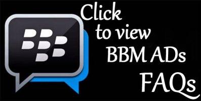 BBM Ads FAQs