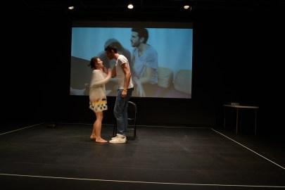 Keren Cytter, Show Real Drama, live performance at DiverseWorks, October 10, 2012, courtesy of DiverseWorks