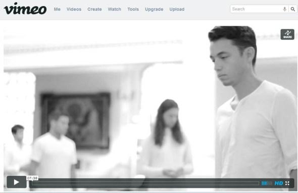 Time After us Vimeo Screenshot