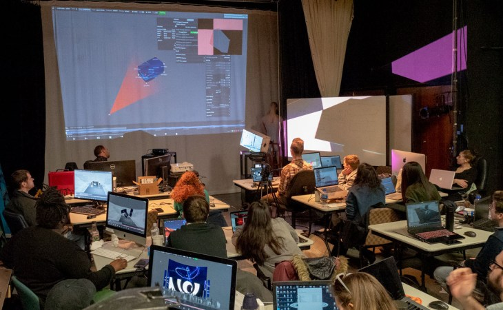 Disguise (d3) Media Server workshop with Alumni JacksonGallagher from Fragment Nine.