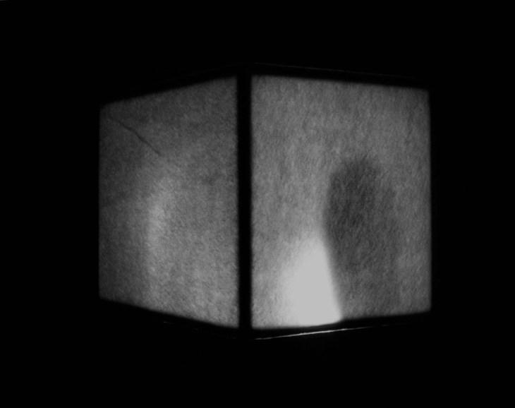 Leonard Rachita 1m3 light_installationParis France 1992